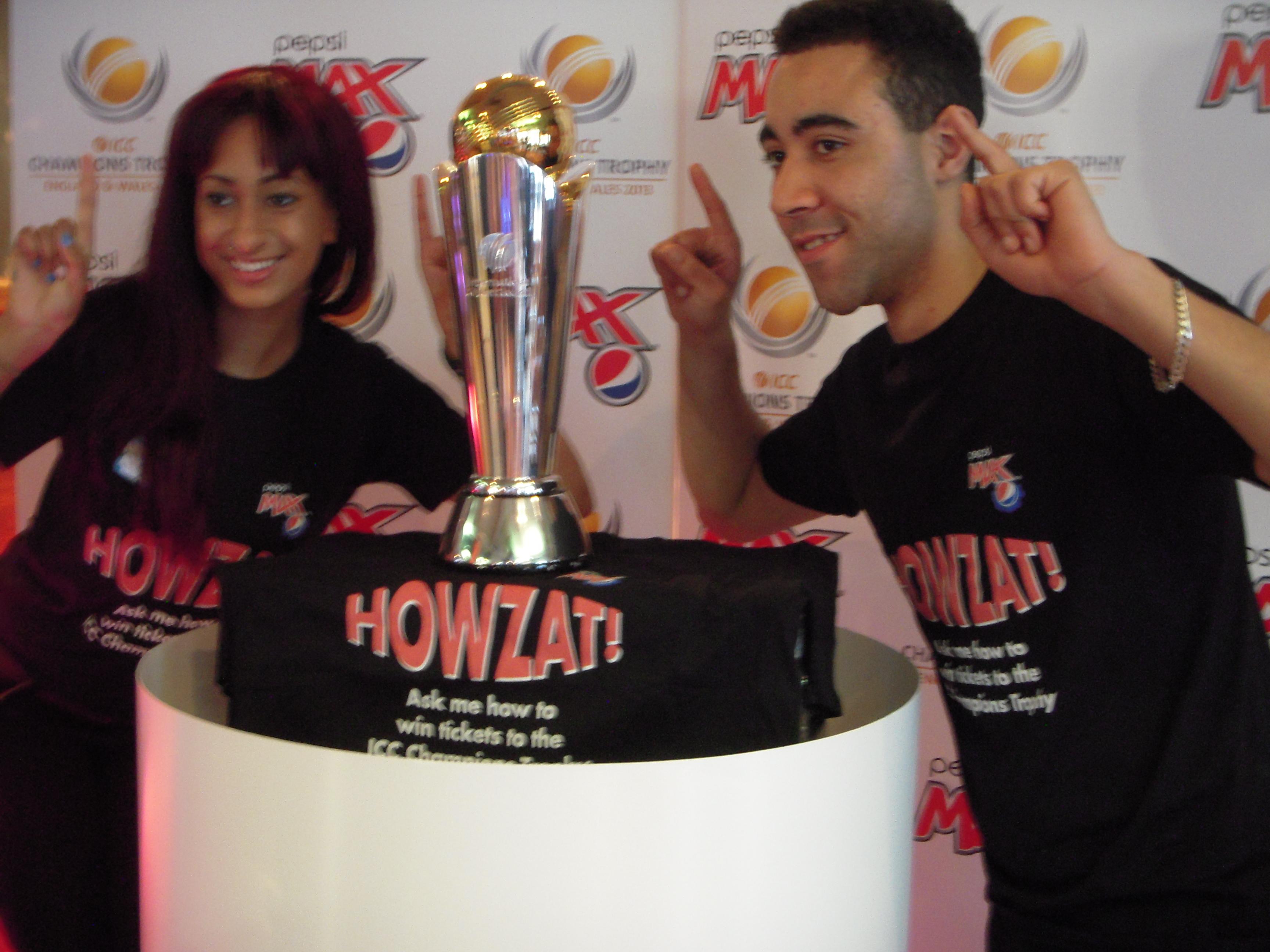 ICC Champions Trophy Tour