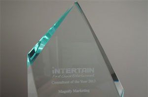 Magnify awarded 'Consultant of the year' by iNTERTAIN