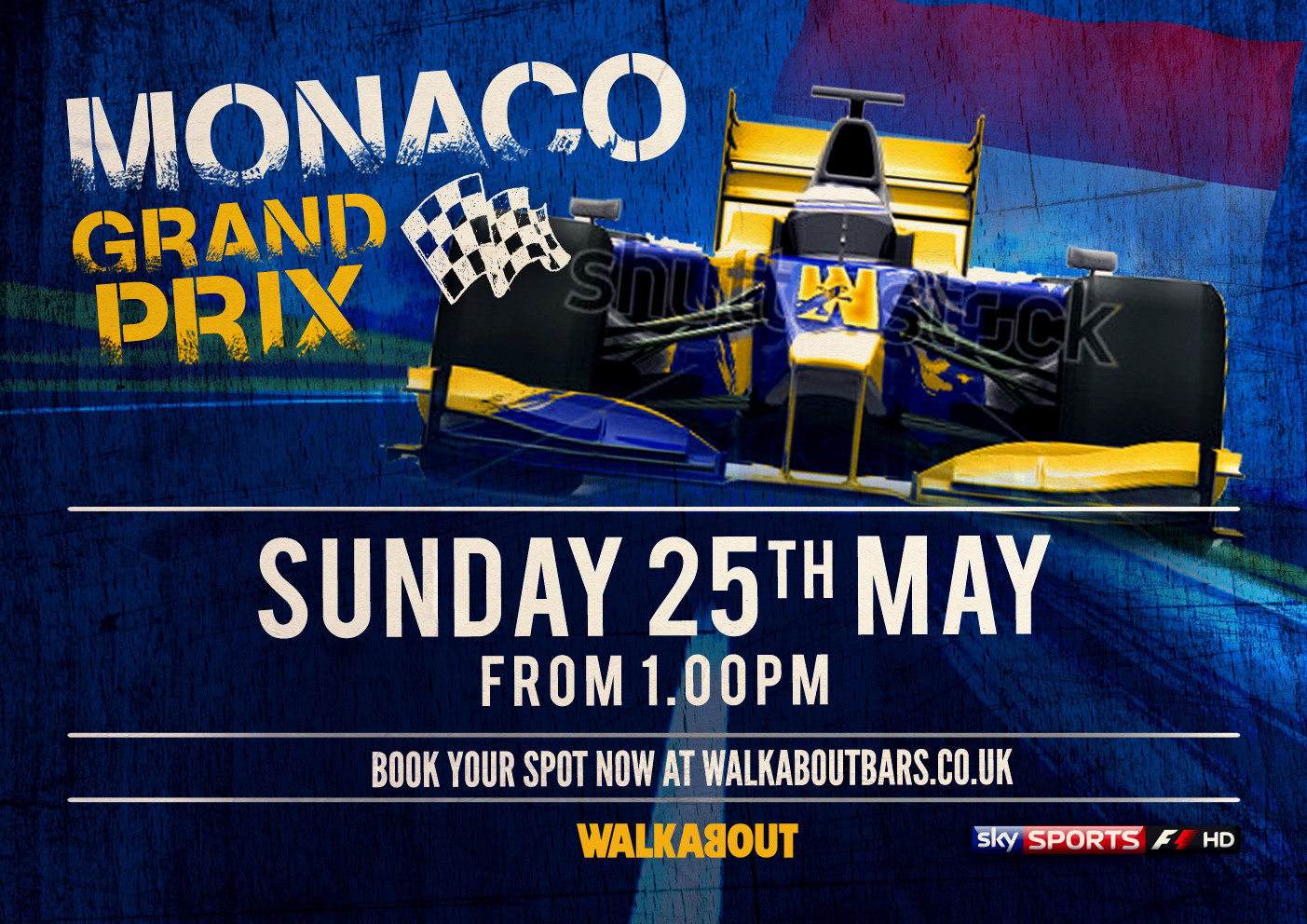 Walkabout goes to Monaco with F1