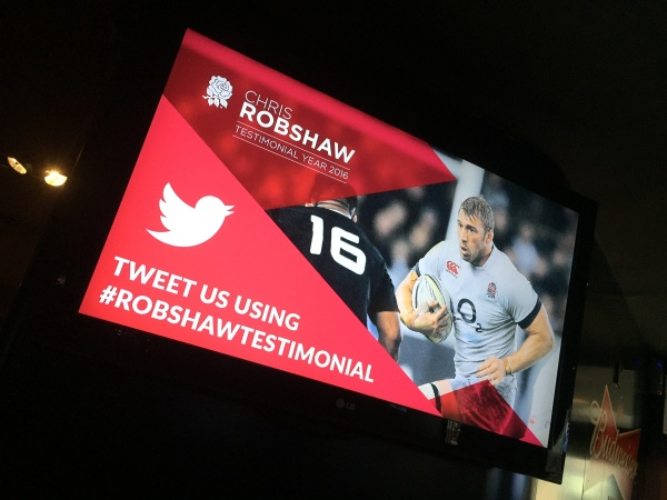 Chris Robshaw at Rileys Haymarket